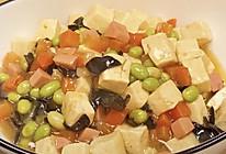 五彩豆腐的做法