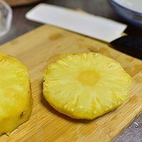 培根菠萝芦笋意面的做法图解3