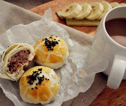 又要一年中秋时,鲜肉榨菜月饼是最温暖的陪伴!—#长帝烘焙节#的做法