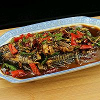 红烧鱼#我要上首页挑战家常菜#的做法图解6