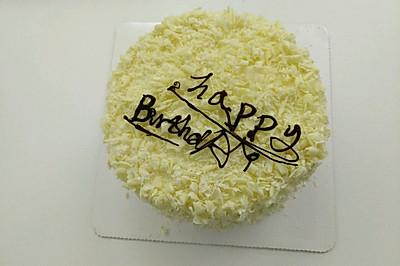旋风白森林蛋糕
