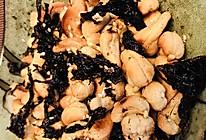 椒盐紫菜腰果的做法