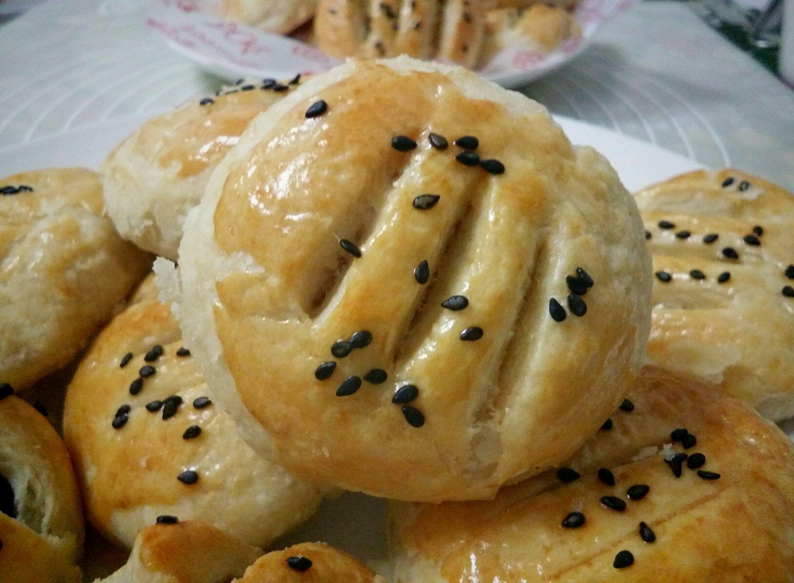 榴莲酥饼的做法图解14