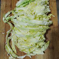 半个蔬菜大合集:炒红薯粉的做法图解1