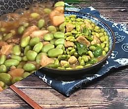 #我要上首焦#青椒毛豆炒鸡丁的做法