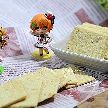 芝麻薄片饼干#甜蜜厨神#