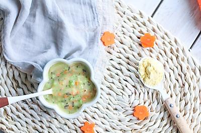 宝宝主食系列——蔬菜玉米糊