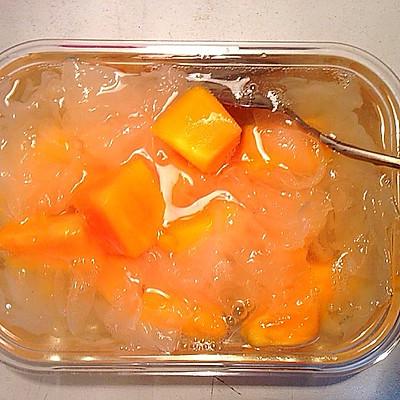 木瓜炖银耳(电饭煲版)