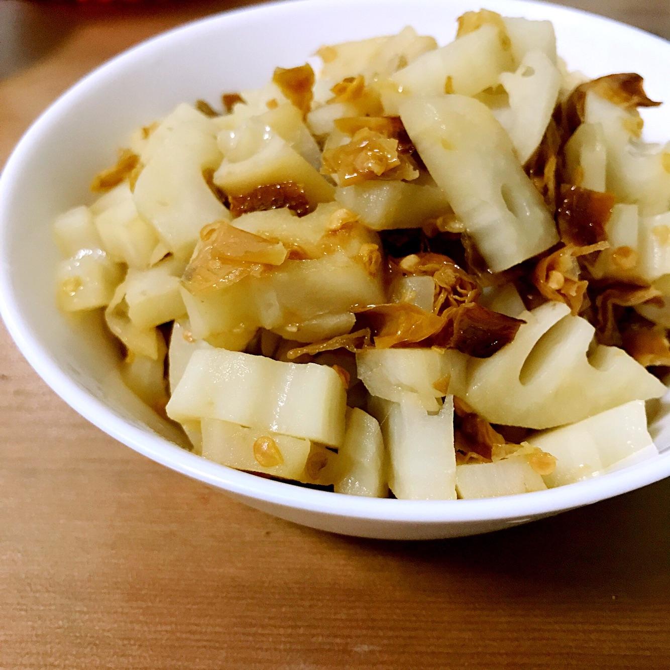 白辣椒炒藕丁的做法_【图解】白辣椒炒藕丁怎么做如何