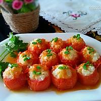 猪肉土豆酿西红柿的做法图解11