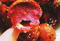 芝士紫薯芝麻球的做法