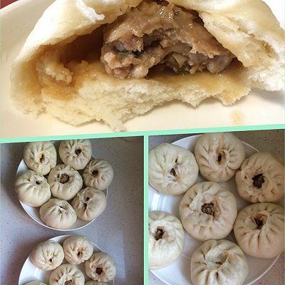 瑶柱香菇鲜肉包