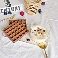 巧克力华夫饼的做法图解8