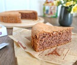 #糖小朵甜蜜控糖秘籍#可可椰蓉蛋糕的做法