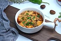 金针菇烩豆腐#今天吃什么#的做法