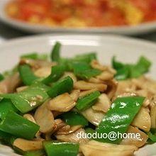 蚝油杏鲍菇青椒