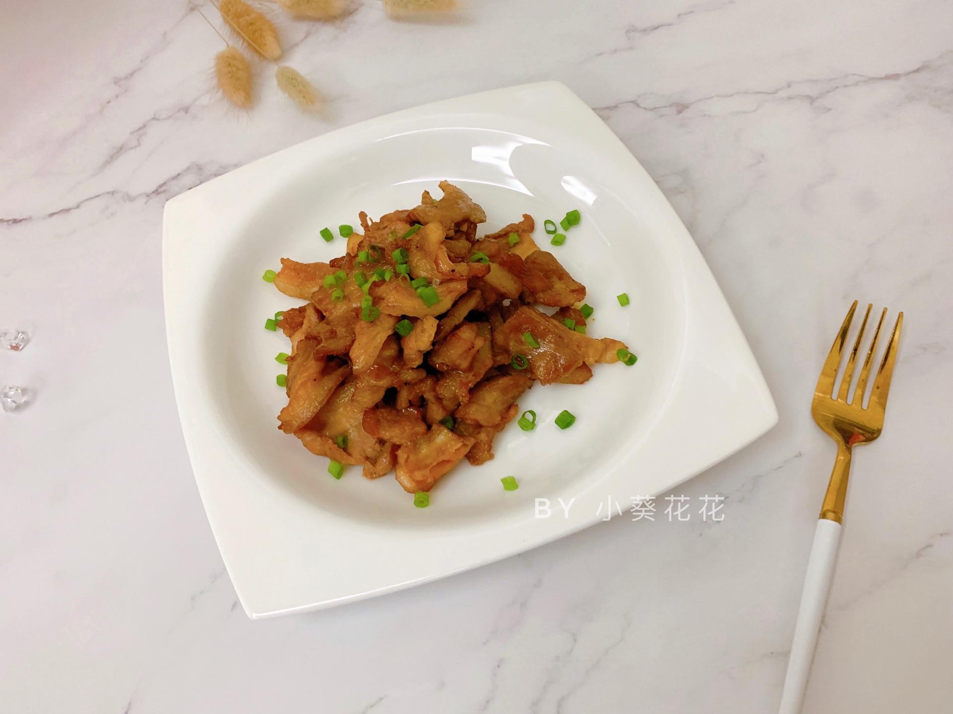 烤五花肉片#硬核菜谱制作人#黄米年糕用油怎么煎