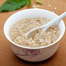 燕麦仁糯米粥