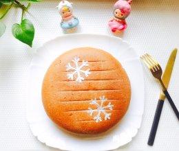 #安佳儿童创意料理#雪花巧克力蛋糕
