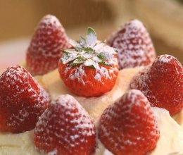 草莓奶油蛋糕—迷迭香的做法