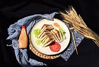 培根鸡蛋迷你三明治--快手早餐的做法