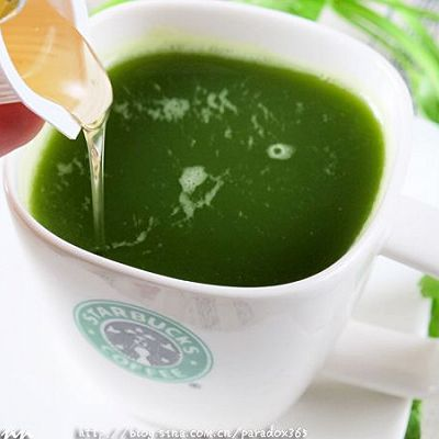 春分节气养生原则:蜂蜜芹菜汁