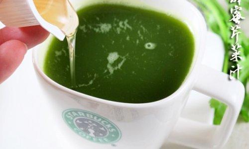 春分节气养生原则:蜂蜜芹菜汁的做法