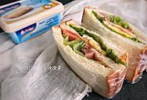 安佳软黄油三明治的做法