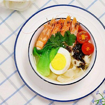 鲜虾板面✧宝宝辅食-早餐