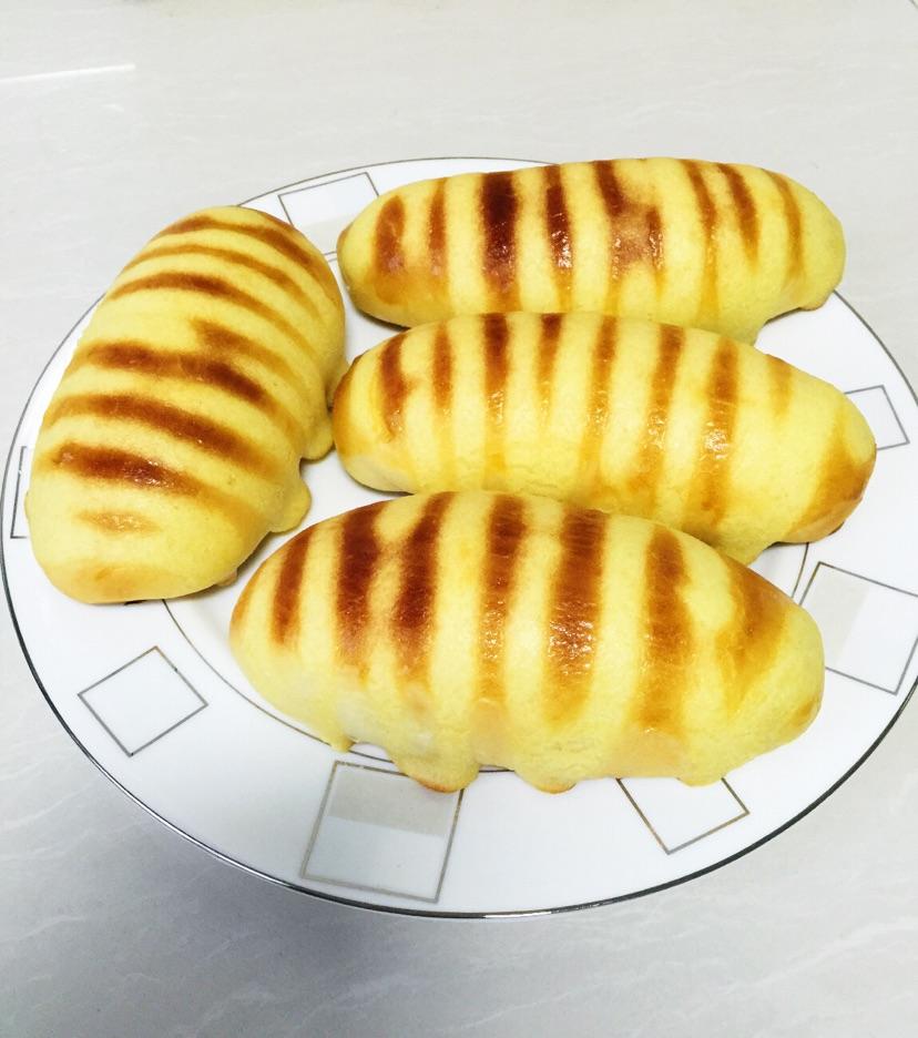 毛毛虫面包(手揉面版)的做法步骤