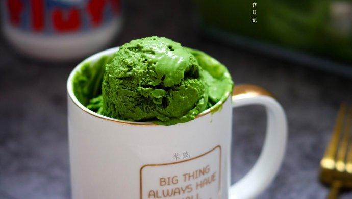 棉花糖抹茶冰淇淋