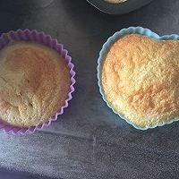 伪乳酪蛋糕(淡奶油蛋糕)的做法图解2