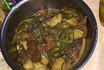 东北排骨炖土豆,豆角的做法
