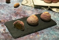 螺纹蛋黄酥的做法