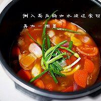 厨渣必学的一锅三吃--土豆番茄牛腩汤的做法图解7