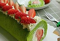春日里的小清新—菠菜蛋糕卷的做法