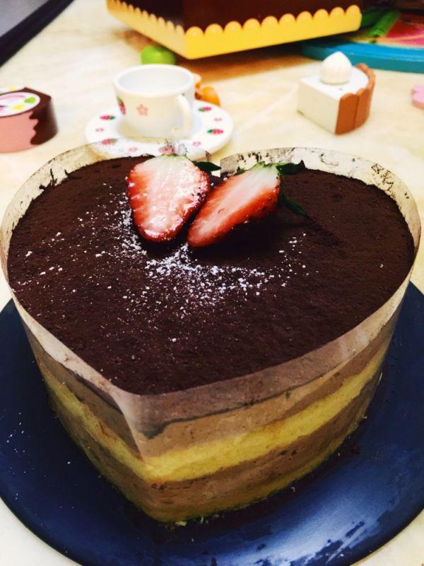 巧克力慕斯乳酪蛋糕的做法