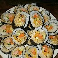 寿司    (紫菜包饭)的做法图解4