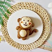 萌萌哒小猴子奶黄包