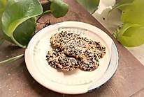 黑白芝麻蛋白薄脆饼的做法