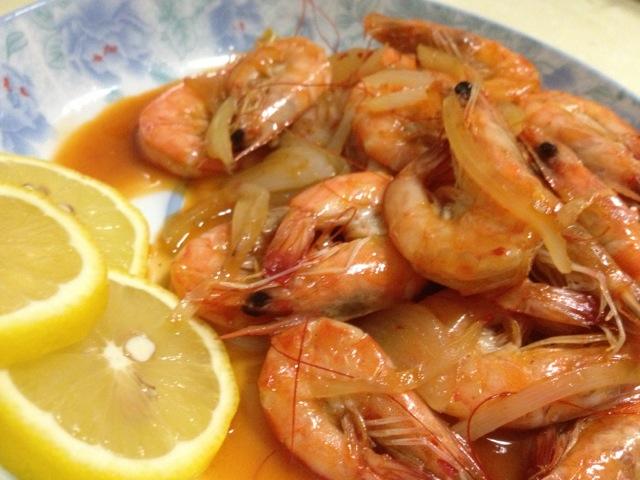 酸甜柠檬虾的做法步骤