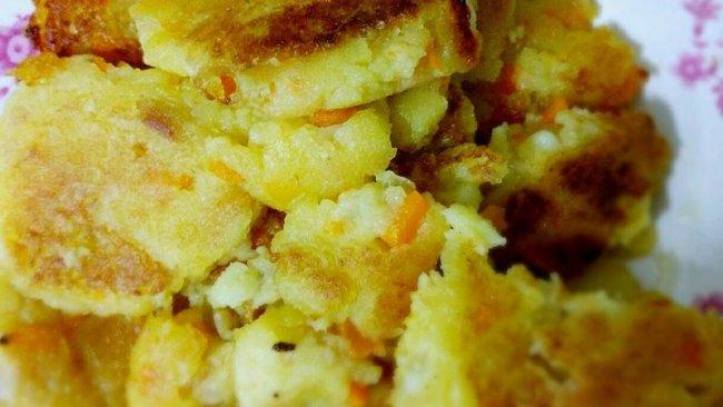 土豆红薯饼的做法