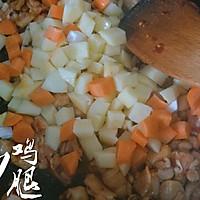 三丁炒鸡腿#金龙鱼外婆乡小榨菜籽油 最强家乡菜#的做法图解13