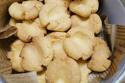 超酥松浓香蛋黄的——玛格丽特小饼干