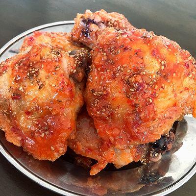 不用油炸的韓國炸雞(空氣炸鍋)