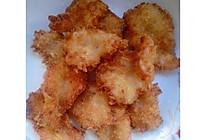 油炸鲜虾片的做法