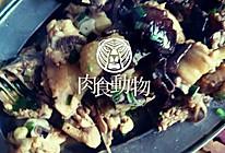 焖菇肉的做法