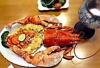 蒜蓉芝士焗龙虾的做法
