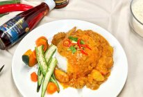 超简单的泰式咖喱鸡饭的做法