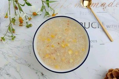 快手早餐——藜麦玉米粥